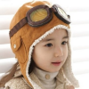 Thumbnail image for Amazon-Wool Baby Toddler Pilot Style Cap with Ear Flaps $4.00