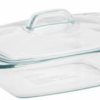 Thumbnail image for Amazon-Pyrex Easy Grab 2 quart casserole with glass cover $8.99