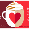 Thumbnail image for Starbucks: Buy One, Get One Free Lattes (February 14, 2-5 p.m.)