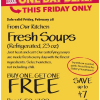 Thumbnail image for Whole Foods: Fresh Soups Buy One Get One Free 2/28