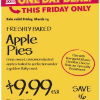 Thumbnail image for Whole Foods: Apple Pies $9.99 on Pi Day!