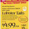 Thumbnail image for Whole Foods Mid-Atlantic: $4.99 Lobster Tails