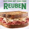 Thumbnail image for Buy One Get One Free Reuben at Arby's