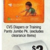 Thumbnail image for CVS: Diapers or Training Pants $3.99