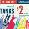Thumbnail image for Old Navy: Tank Tops for $2