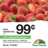 Thumbnail image for Farm Fresh Supermarkets: Strawberries $.99