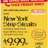 Thumbnail image for Whole Foods: New York Strip Steaks $9.99
