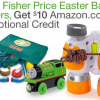 Thumbnail image for Free $10.00 Amazon Credit With Fisher Price Purchase (Easter Basket Alert)