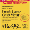 Thumbnail image for Whole Foods Mid-Atlantic Region: Fresh Lump Crab Meat $16.99 lb