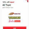 Thumbnail image for Target: Extra 10% Off Toys Using Cartwheel Plus Coupons (Through 4/12)