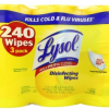 Thumbnail image for Amazon: Lysol Disinfecting Wipes 3-Pack Only $7.48 Shipped (Just $2.49 Per Large Canister)