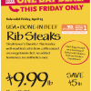 Thumbnail image for Whole Foods Mid-Atlantic Region: Bone-In Beef Rib Steaks $9.99 lb