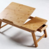 Thumbnail image for Amazon-Bamboo Multi-Position Desk & Serving Bed Tray With Drawer $17.99