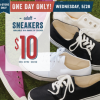 Thumbnail image for Old Navy: $10 Adult Sneakers (5/28 Only)