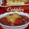 Thumbnail image for Strawberry Rhubarb Cobbler Recipe