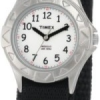 "Thumbnail image for Amazon-Timex Kids' ""My First"" Stainless Steel and Velcro Strap Watch $11.99"