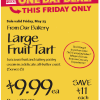 Thumbnail image for Whole Foods Mid-Atlantic Region: Large Fruit Tart Sale $9.99