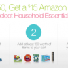Thumbnail image for Spend $50 On Household Essentials, Get $15 Amazon Gift Card