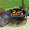 Thumbnail image for Amazon-CobraCo Diamond Mesh Fire Pit with Screen and Cover $119.00
