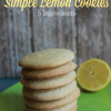 Thumbnail image for Lemon Sugar Cookie Recipe