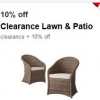 Thumbnail image for Target Cartwheel: 10% Off Clearance Lawn & Patio Items