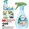 Thumbnail image for Target: Febreeze Car/Fabric Refresher Deals- Under $1 Each