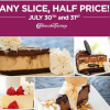 Thumbnail image for Half Price Cheesecake Factory- July 30th and 31st