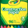 Thumbnail image for It's Back! Amazon-Crayola 96 Sheet Construction Paper Just $2.46