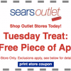 Thumbnail image for Sears Outlet: One FREE Piece of Apparel- No Purchase Necessary