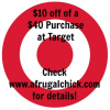 Thumbnail image for Target: $10 off of $40 Purchase