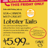 Thumbnail image for Whole Foods Mid-Atlantic Region: $5.99 Lobster Tails