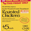 Thumbnail image for Whole Foods Mid-Atlantic Friday Deal: Whole Cooked Roasted Chicken $5