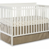 Thumbnail image for Amazon-Stork Craft Mission Ridge Fixed Side Convertible Crib, White $89.00