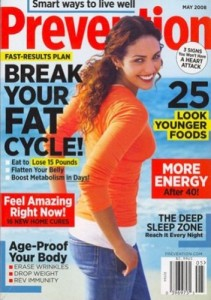 Post image for Prevention Magazine Sale $3.99 yr