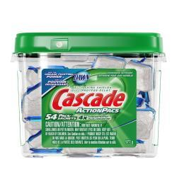 Post image for Cascade Actionpacs Dishwasher Detergent $14.19 (84 Ct)