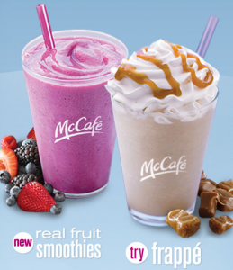 McDonald's McCafe Smoothies