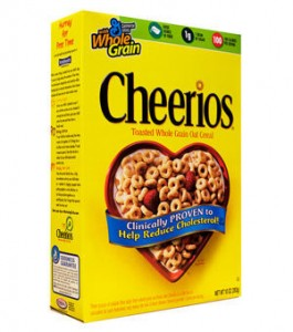 Post image for Cheerios 4- 14 oz Boxes $2.28 Each Shipped
