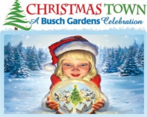 Post image for Busch Gardens Christmas Town Discount- Updated 12/9