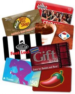 Post image for Holiday Gift Card Promotions