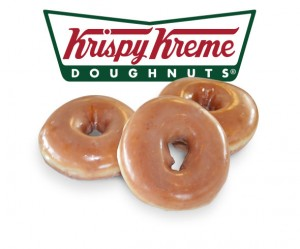Post image for FREE Krispy Kreme Doughnuts