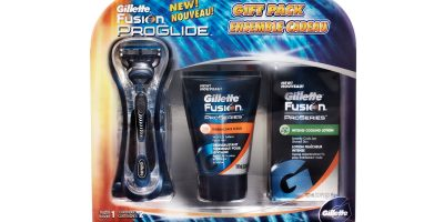 Gillette Fusion ProGlide and ProSeries Gift Set