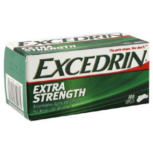 Post image for Walgreens: Excedrin $.99