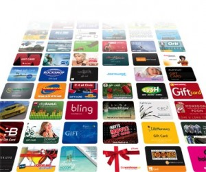 Post image for Popular E- Gift Cards