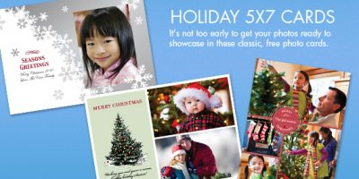 hp holiday cards