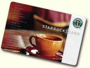 Post image for Living Social: $5 for $10 Starbucks Gift Card