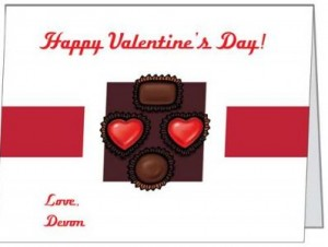 Post image for 10 Personalized Valentines Note Cards $4.50 (Shipping Included)