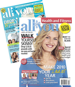 Post image for Last Day: 6 Months of All You Magazine for $6