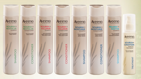Post image for Free Sample Aveeno Nourish and Strengthen Shampoo and Conditioner