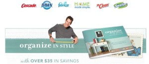 Post image for Request Your Organize in Style Coupon Booklet