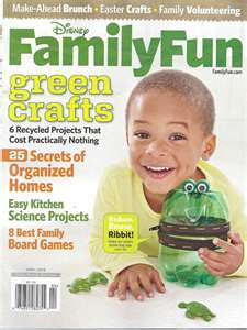 Post image for Disney Family Fun Magazine – $3.99/Year